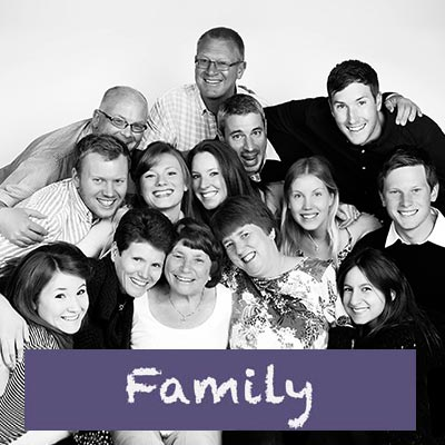Family portraits in our Bristol studio