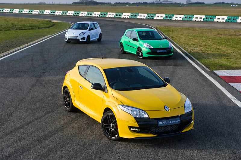 The brand new Renault Megane RS250