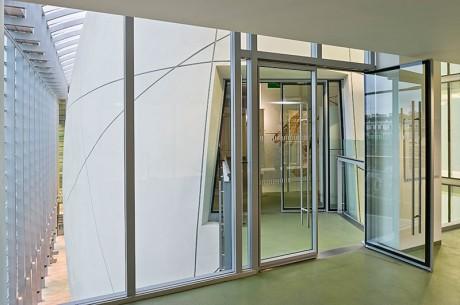 Door closers at the Darwin Centre, Natural History Museum