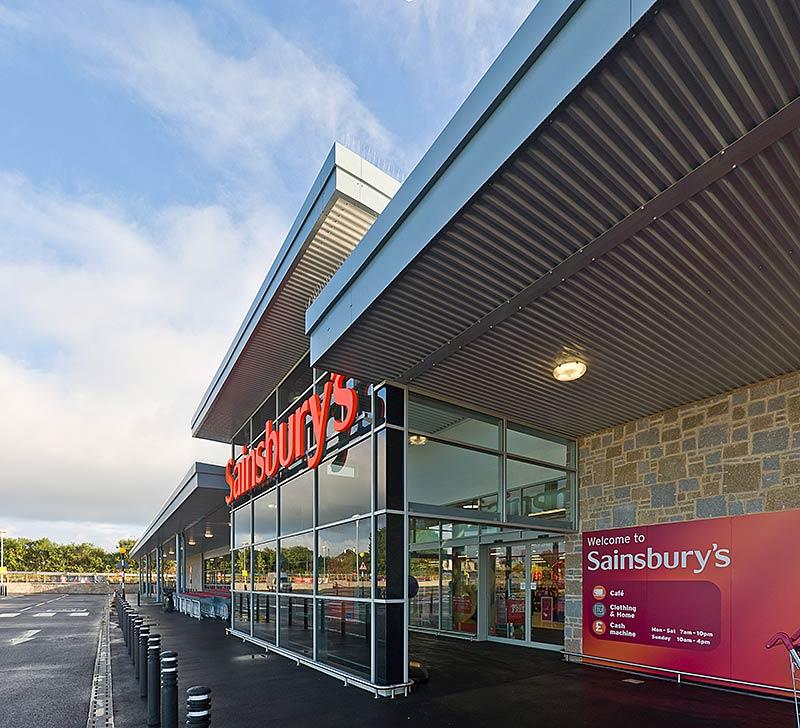 New Sainsbury Superstore In Helston, Cornwall