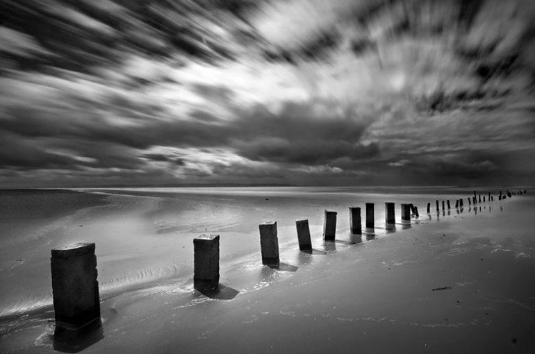 Berrow Posts (Berrow Beach nr Burnham on Sea)