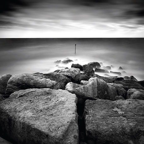 Photograph of Breakwater at West Bay, Dorset