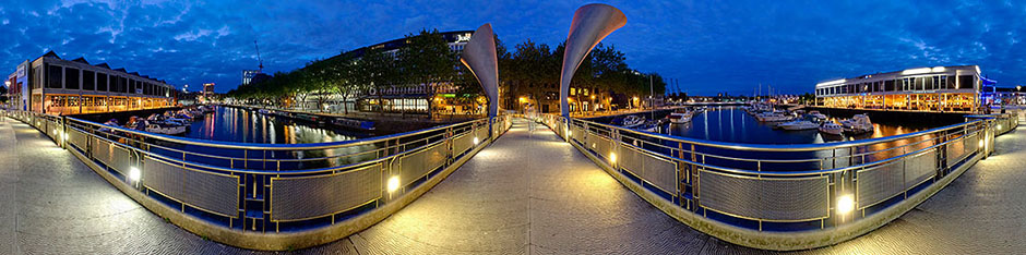 Peros Bridge 2 (Bristol Harbour Panorama)