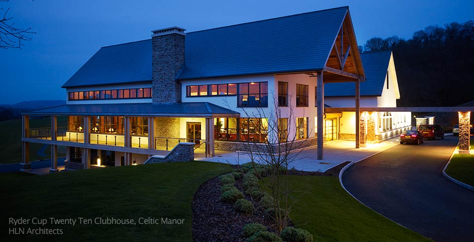 Ryder Cup Clubhouse for HLN Architects