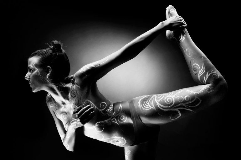 Body Painting At Bristol Zzzone Photography Studios