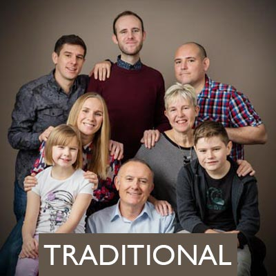 Traditional Family Portraiture