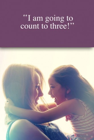 i am going to count to three