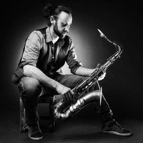 Saxophonist Portrait