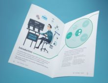 Leaflet and Printed Media Promotional Photographs