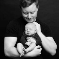 Josh Taylor's Newborn Photoshoot